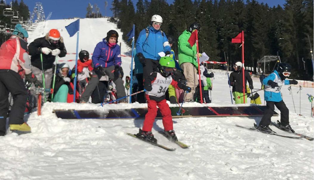 Bremer Skimeisterschaften im Parallelslalom auf der Hexenrittpiste bei Braunlage im Harz