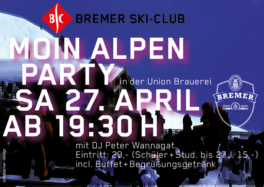 MOIN ALPEN- PARTY