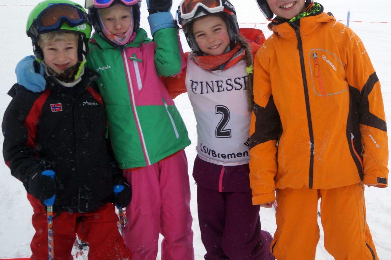 Ski-Casting für Kinder 4-11 Jahre