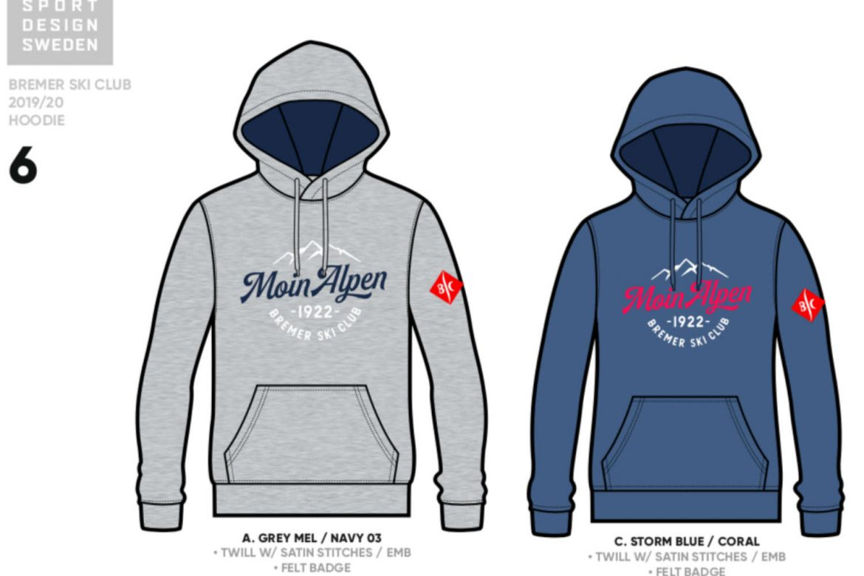 Der Moin Alpen – BSC-Hoodie!