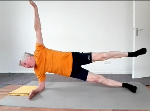 Bleibt fit mit Rolf: Übungen für Zuhause