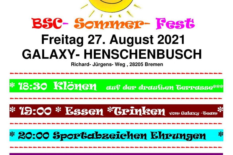 BSC Sommerfest 2021